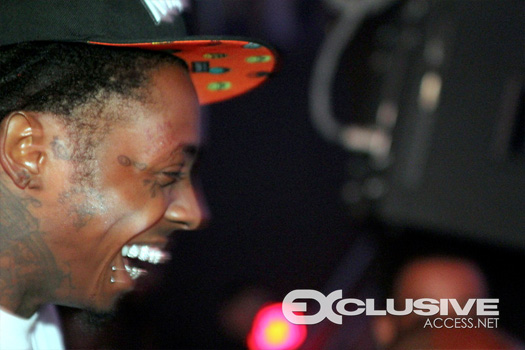 Lil Wayne Parties At LIV Nightclub On June 3rd