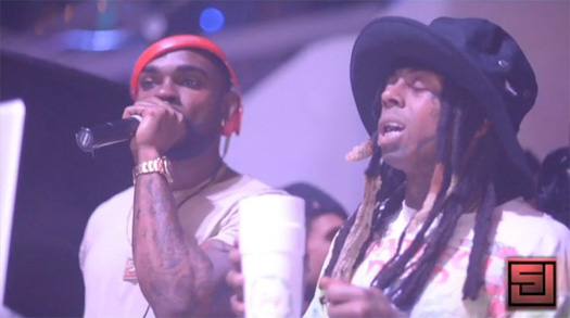 Lil Wayne Attends LIV Nightclub With Birdman, 2 Chainz, Jadakiss, Fabolous & Ace Hood
