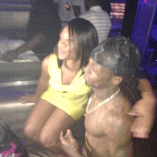 Lil Wayne Attends LIV On Sundays With Future, Mack Maine & Others