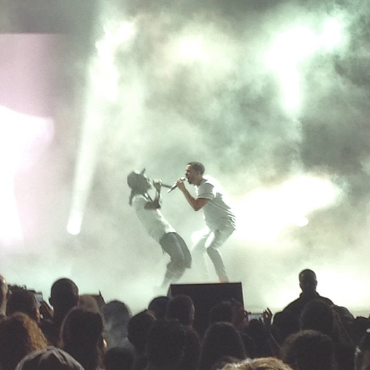 Lil Wayne & Drake Perform Live In Los Angeles California On Their Joint Tour
