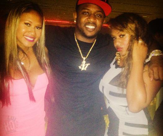 Lil Wayne & Mack Maine Attend Epic Nightclub In Tampa Florida