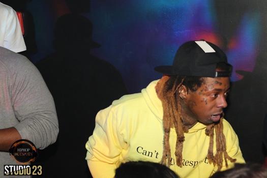 Lil Wayne & Mack Maine Join Lil Twist In Celebrating His Birthday At Studio 23 In Miami