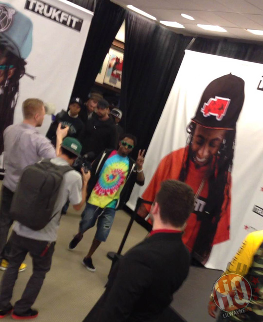 Lil Wayne Makes In-Store Appearance At Macys In Louisiana