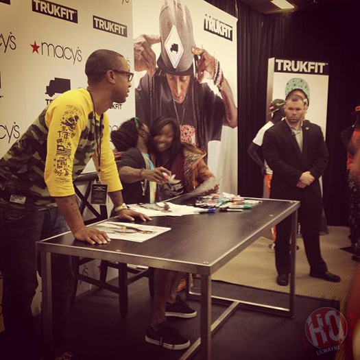 Lil Wayne Visits Macys In Louisiana For A Meet & Greet Session