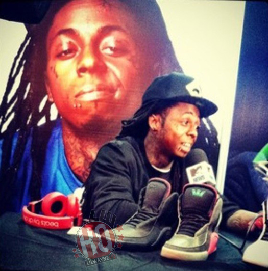 Lil Wayne Photos From Magic Convention In Las Vegas
