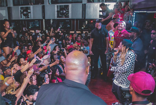 Lil Wayne Makes An Appearance & Performs Live At Pryme Bar In Dallas