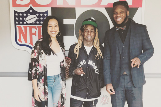 Lil Wayne Explains What Makes Malik Jefferson A Perfect Client, Compares Him To Lawrence Taylor