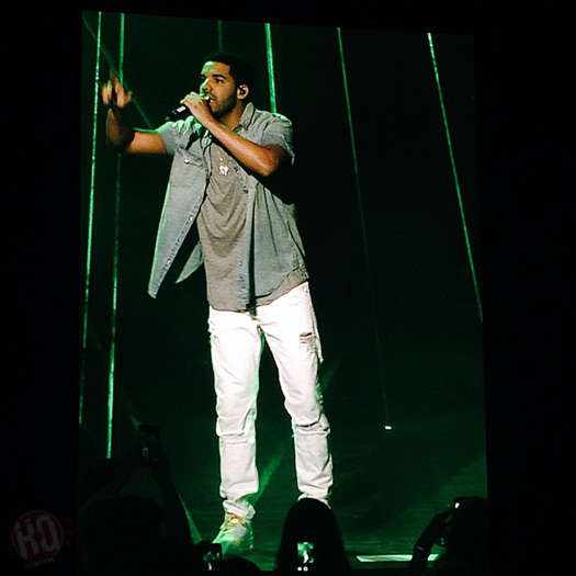Lil Wayne & Drake Perform Live In Mansfield Massachusetts On Their Joint Tour