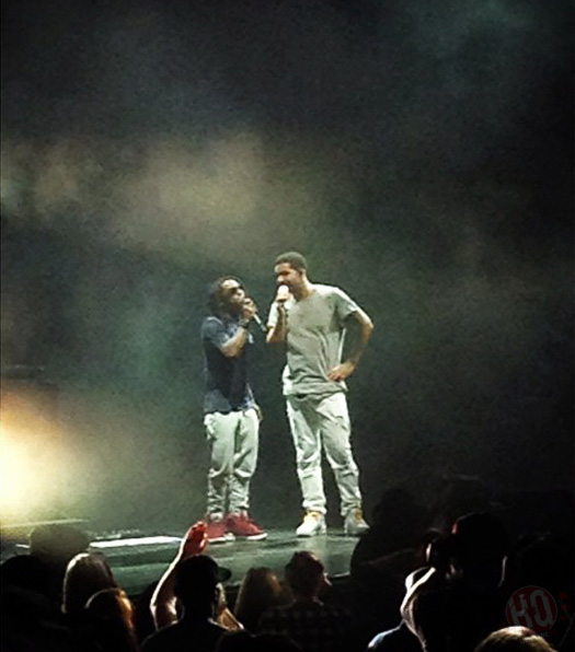 Lil Wayne Amp Drake Perform Live In Mansfield Massachusetts