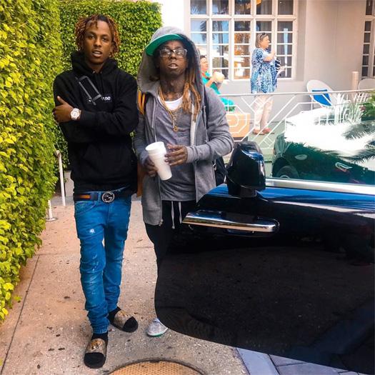 Lil Wayne Meets Birdman New Artist BTY YoungN & Talks Skateboarding With Rich The Kid
