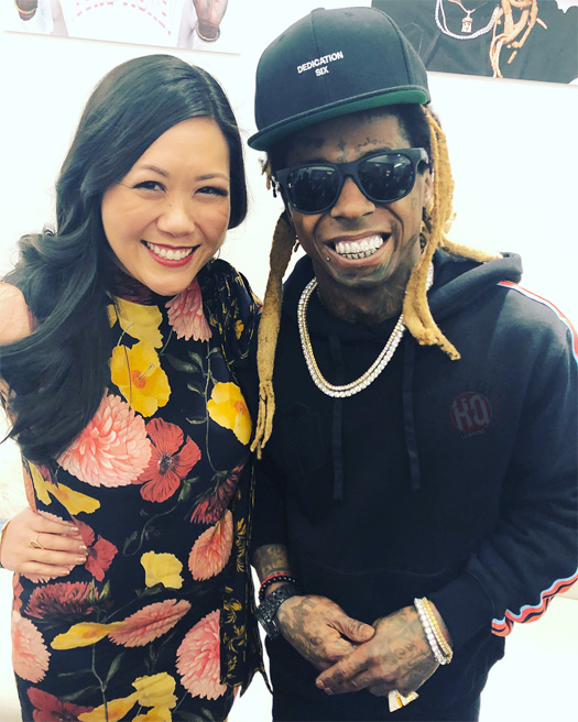 Lil Wayne Meets & Greets His Fans At Neiman Marcus In Beverly Hills