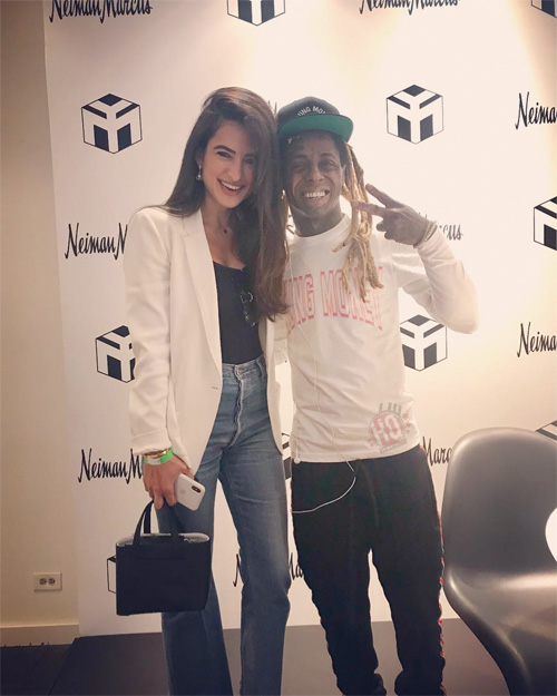 Lil Wayne Meets & Greets His Fans At Neiman Marcus Clothing Store In Miami