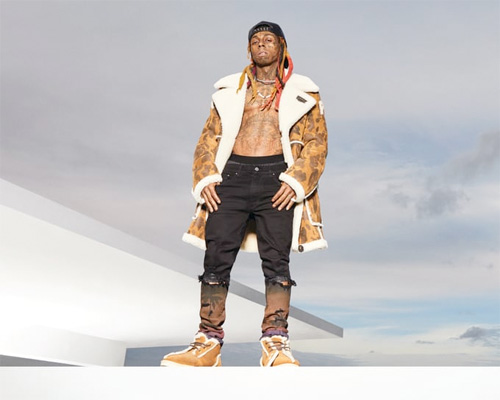 Lil Wayne Models The Bape X Ugg Ss19 Campaign Photo Shoot