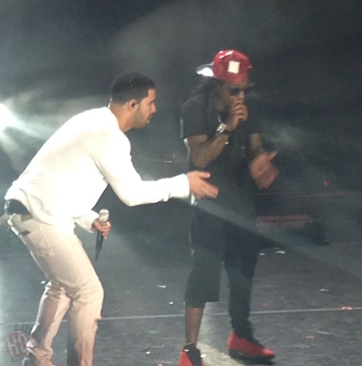 Lil Wayne & Drake Perform Live In Morrison Colorado On Their Joint Tour
