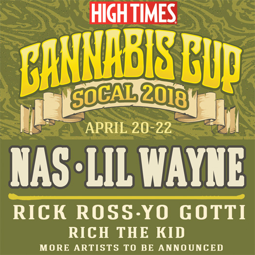 Lil Wayne, Nas, Rick Ross & More To Headline The HIGH TIMES 2018 Cannabis Cup SoCal Show