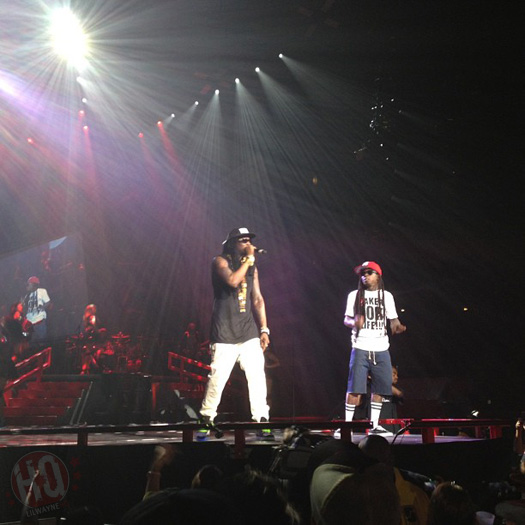 Lil Wayne Performs Live In Nashville On Americas Most Wanted Tour