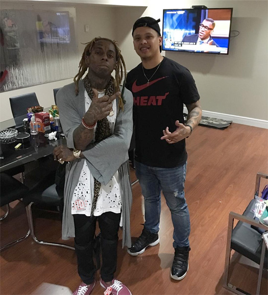 Lil Wayne Gets New Face Tattoos