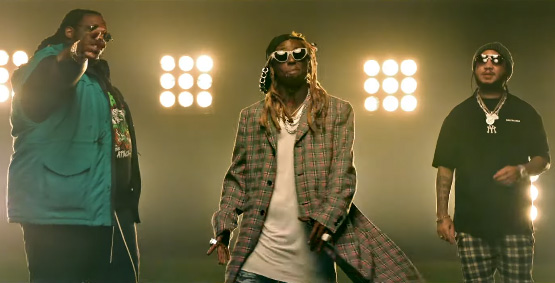 Lil Wayne NFL Feat Gudda Gudda & HoodyBaby Music Video