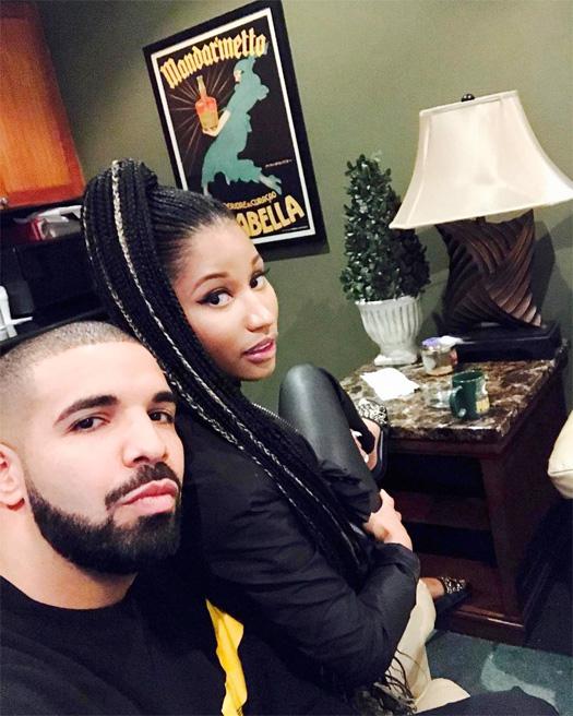 Lil Wayne, Nicki Minaj & Drake Hit Up The Studio Together