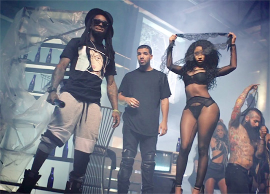 Lil Wayne, Nicki Minaj & Drake Make Hot 100 History