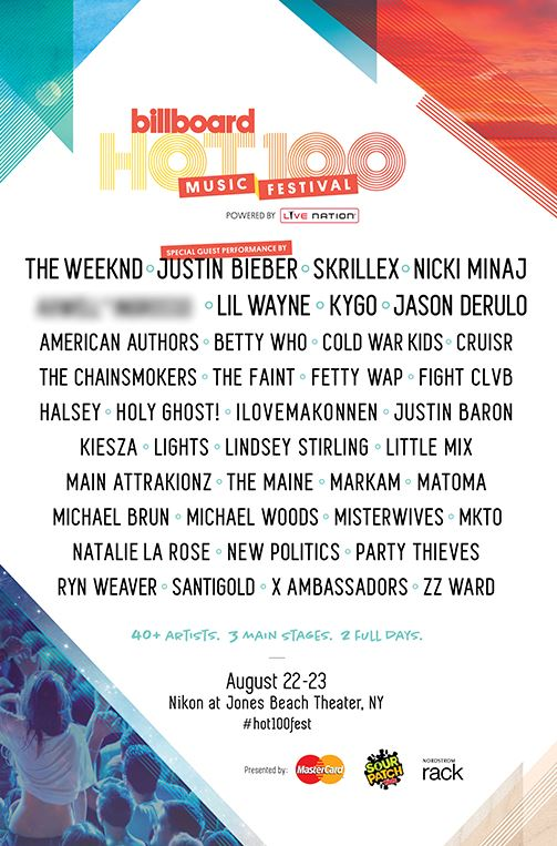 Lil Wayne, Nicki Minaj, Justin Bieber, The Weeknd & More To Headline Billboard Hot 100 Festival In New York