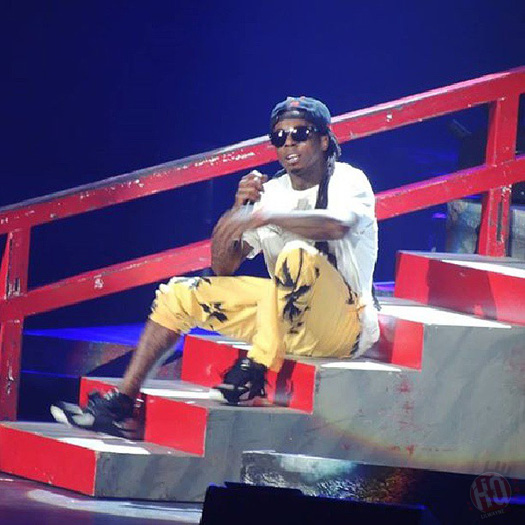 Lil Wayne Performs Live In Oklahoma City On Americas Most Wanted Tour