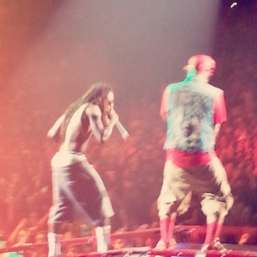 Lil Wayne Performs Live In Omaha On Americas Most Wanted Tour
