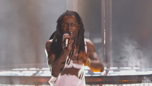 Lil Wayne Opens Up The 2015 Players Awards By Performing Glory Live