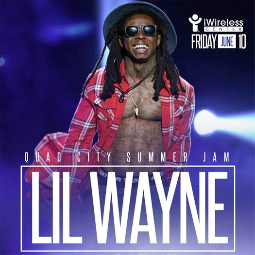 Lil Wayne & OT Genasis To Perform Live At The Quad City Summer Jam In Illinois