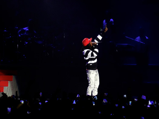 Lil Wayne Performs Live In Paris France On His European Tour