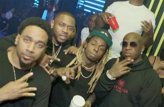 Lil Wayne Parties With Birdman At His 2018 Rolling Loud After Party