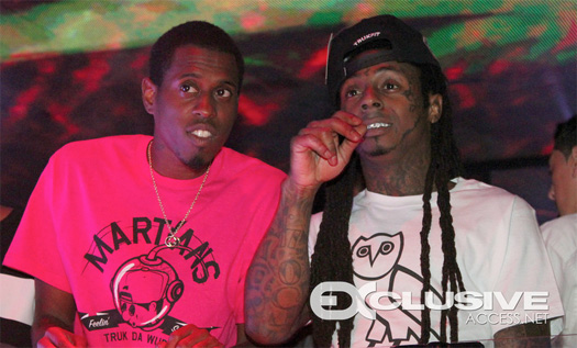 Lil Wayne Parties With Kendrick Lamar At Bamboo Nightclub In Miami