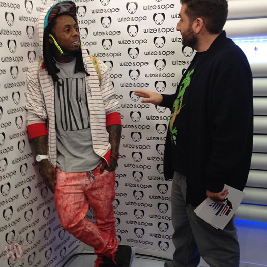 lil wayne announces partnership with wize ope attends launch event in paris france. Black Bedroom Furniture Sets. Home Design Ideas
