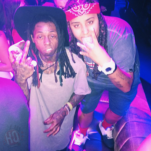Lil Wayne Performs Hes Dead Off Free Weezy Album Live At LiFE Nightclub In Las Vegas