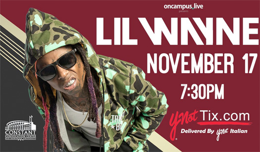 Lil Wayne To Perform Live In Norfolk & Host An After-Party In Virginia Beach