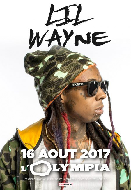 Lil Wayne To Perform Live In Paris France This Summer