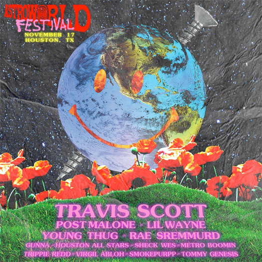 Lil Wayne To Perform Live At Travis Scott 2018 Astroworld Festival In Houston