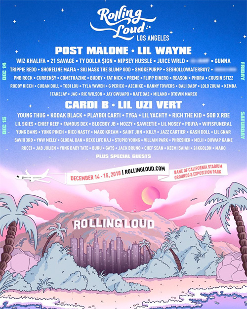 Lil Wayne To Headline The 2018 Rolling Loud Music Festival In Los Angeles