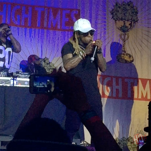 Lil Wayne Performs Six Songs Live At The 2016 HIGH TIMES Medical Cannabis Concentrates Cup