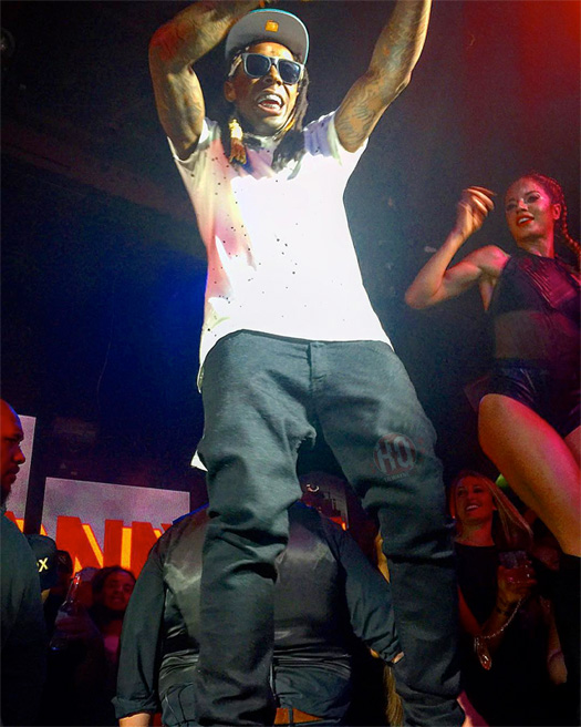 Lil Wayne Performs A Milli, Rich As Fuck, Loyal & Steady Mobbin Live At Fluxx Nightclub In San Diego