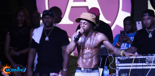 Lil Wayne Performs A Milli, Wasted, Glory, Rollin & More Songs Live In Bahamas