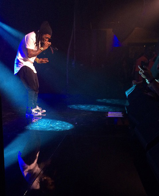 Lil Wayne Performs Live At The Comcast Ventures Party During SXSW In Austin
