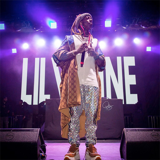 Lil Wayne Performs Dont Cry & Gives A Speech At XXXTentacion Skins Album Release Party