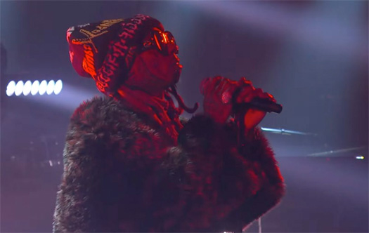 Lil Wayne Performs Dont Cry Live On The Late Show With Stephen Colbert