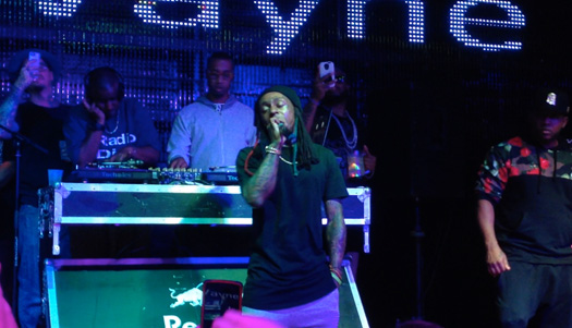 Lil Wayne Performs Live At BLVD Nights In Kansas City