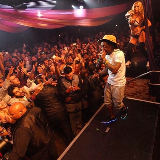 Lil Wayne Performs Live At Fluxx Nightclub In San Diego
