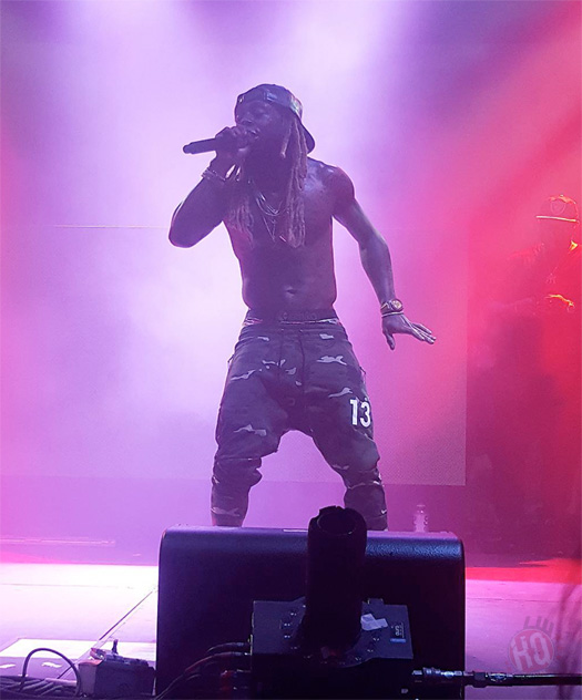 Lil Wayne Performs Go DJ, Truffle Butter & More Live At The Bud Light Party Convention In Houston