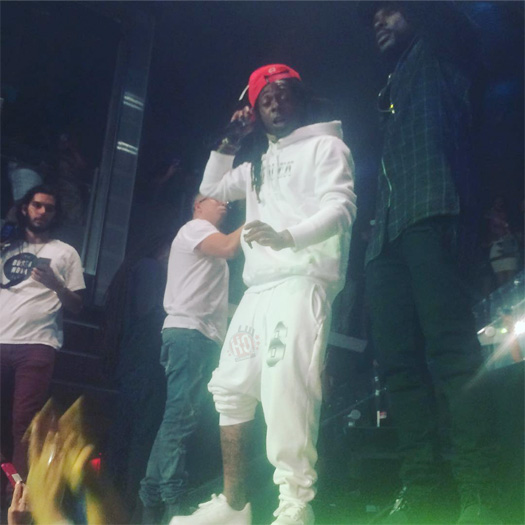 Lil Wayne Performs Gotta Lotta & More Songs Live At LIV Nightclub In Miami