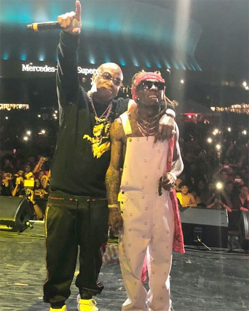 Lil Wayne Performs Im A Dboy, Money On My Mind, Cash Money Millionaires, BM JR & More At His 2018 Lil Weezyana Fest