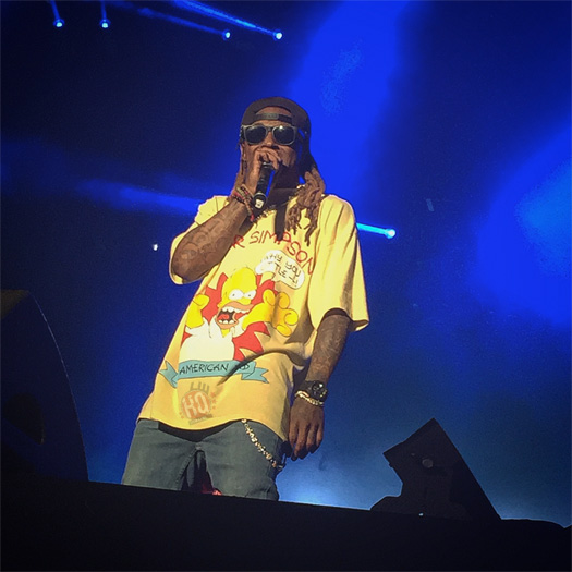 Lil Wayne Performs Im Me, Believe Me, Im The One, No Problem & More At Lokerse Feesten In Belgium